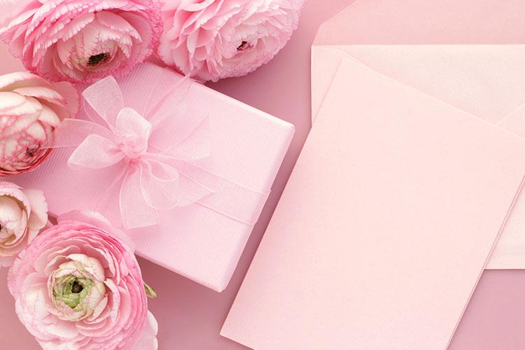 手土産と手紙