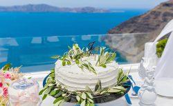 夏挙式にぴったりなウェディングケーキ