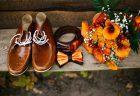結婚式のテーマカラー(オレンジ色)