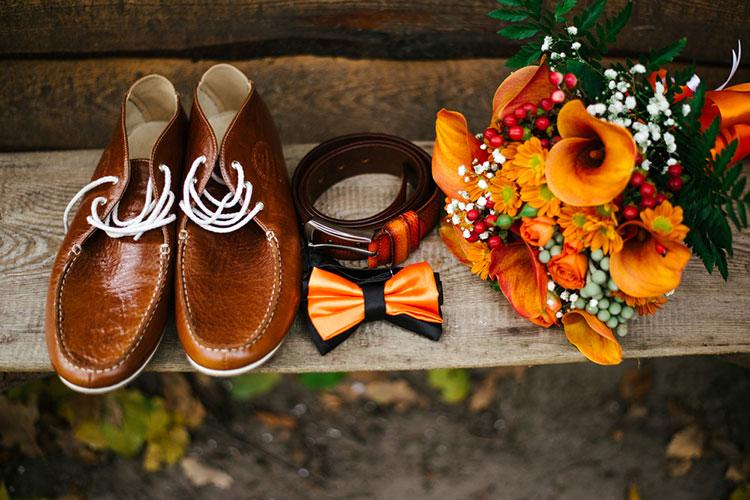 【テーマカラー】オレンジ色いっぱいの結婚式アイディア