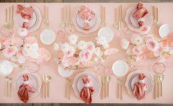 テーブルコーディネート(ピンク)