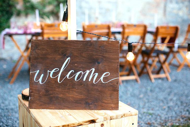 【結婚式】ウェルカムボードDIY!おしゃれな無料フォント&使い方