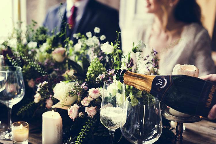 結婚式のテーブルアート