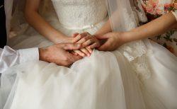 花嫁と両親