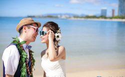 ハワイのビーチフォト(撮影:ロイヤルカイラ)