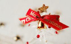 クリスマスウエディング 席札