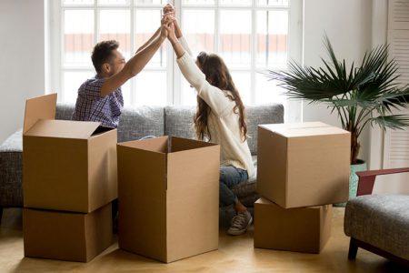 結婚式アイテムの搬入
