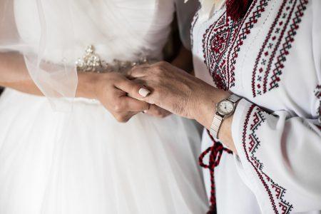祖母と花嫁