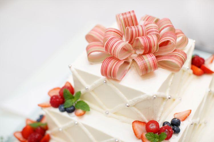 ウェディングケーキ細工