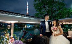 レストランバスで結婚式