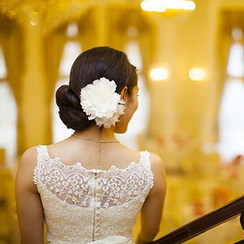 大人花嫁の髪飾り