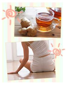 食事・運動・衣服で改善