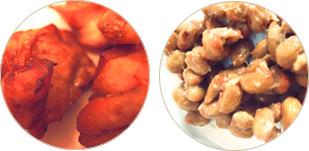 鶏肉と大豆製品