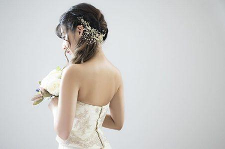 結婚式で花嫁が使うウィッグ