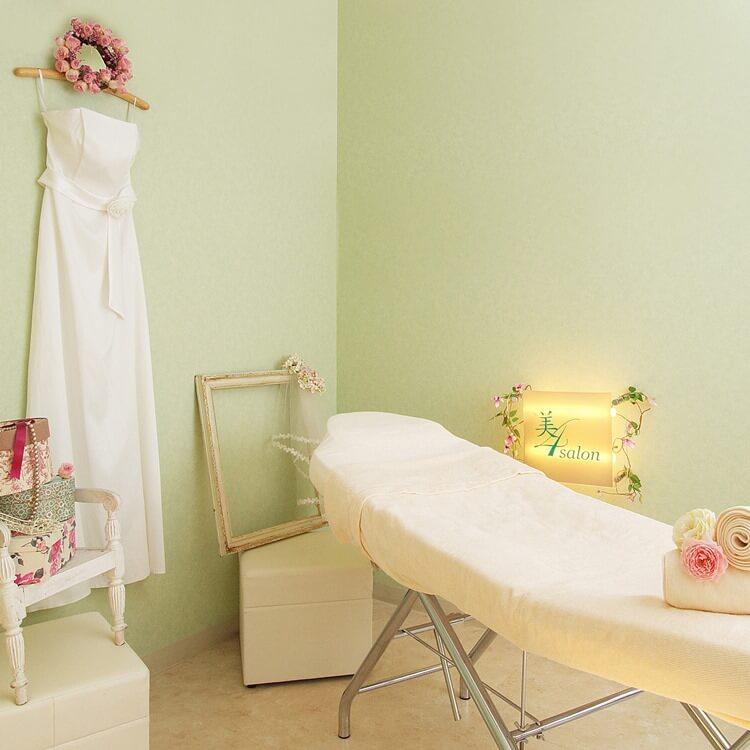 美4salon 名古屋新瑞店のベッドルーム