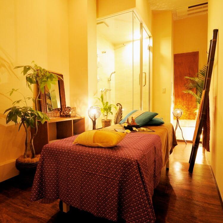 ワヤンサラ銀座店のベッドルーム