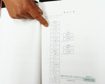 パックは全部で19の工程を踏んで製造されています。