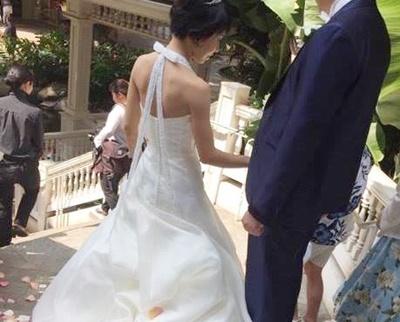 ショートヘア花嫁