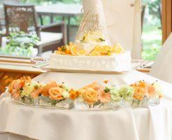 ウェディングのケーキ装花はなしでもOK!抑えるべき工夫ポイントをご紹介